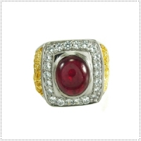 แหวนพลอยทับทิม (Ruby)