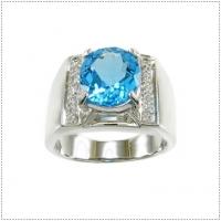 แหวนพลอยโทแพซ (Topaz)