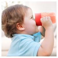 แก้วหัดดื่ม & กล่องกันบีบสำหรับเบบี๋ - Baby's Lovely Sippy Cup
