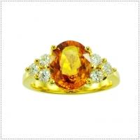 แหวนพลอยทองแท้ ผู้หญิง