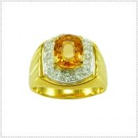แหวนพลอยซิทริน (Citrine)