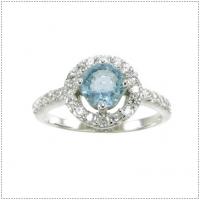 แหวนอะความารีน (อัญมณีประจำจำมีนาคม)