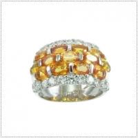 แหวนพลอยบุษราคัม (อัญมณีประจำเดือน พฤศจิกายน)