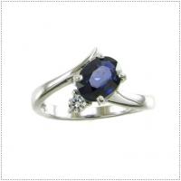 แหวนพลอยไพลิน (อัญมณีประจำเดือน กันยายน)