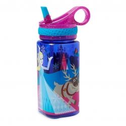 กระติกน้ำแบบหลอดดื่มสำหรับเด็ก Disney Water Bottle with Built-In Straw (Frozen)
