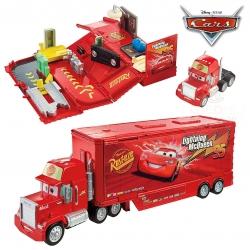 กล่องรถพร้อมกิจกรรมซ่อมบำรุงรถยนต์ Disney Pixar Cars Wheel Action Drivers Mack Playset