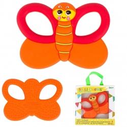 ยางกัดสุดหนึบปลอดสารพิษ SILLI CHEWS (Flutter Butterfly)