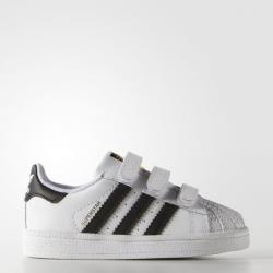 รองเท้าสำหรับเด็ก Adidas Originals Superstar Foundation Shoes (Black)
