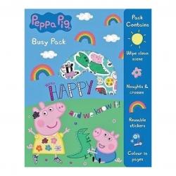 ชุดกิจกรรมสำหรับเด็ก Peppa Pig Busy Pack - HAPPY and we know it!