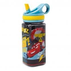 กระติกน้ำแบบหลอดดื่มสำหรับเด็ก Disney Water Bottle with Built-In Straw (Cars)
