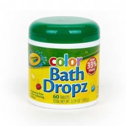 สีผสมอ่างอาบน้ำชนิดปลอดสารพิษ Crayola Color My Bath Dropz