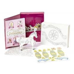 หนังสือกิจกรรมสำหรับเจ้าหญิงแสนสนุก Press out, Color, And Play - Princess Carriage