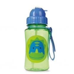 กระติกน้ำชนิดหลอดดูดพร้อมฝาปิด Skip Hop รุ่น Zoo Straw Bottle (Dinosaur)