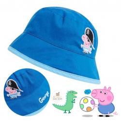 หมวกปีกกันแดดสำหรับเด็ก mothercare George Pig Fisherman's Hat