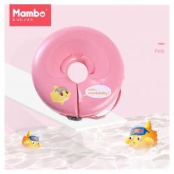 ห่วงยางสวมคอสำหรับทารกและเด็กเล็ก Mambo Baby Safety Swimming Neck Ring (Pink)