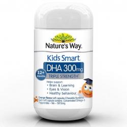วิตามินบำรุงสมองสำหรับเด็ก Nature's Way Kids Smart DHA 300mg Triple Strenght