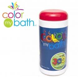 สีผสมอ่างอาบน้ำปลอดสารพิษ Color My Bath รุ่น Color Changing Bath Tablets (บรรจุ 300 เม็ด)