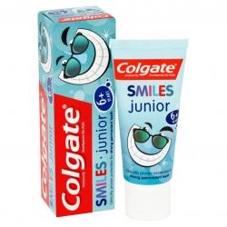 ยาสีฟันผสมฟลูออไรด์สำหรับเด็กโต Colgate Smiles Anticavity Toothpaste for Kids - Junior 6+