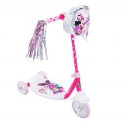 รถสกู๊ตเตอร์สำหรับเด็ก Huffy 3-Wheel Scooter (Minnie Mouse)