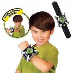 นาฬิกาข้อมือแปลงร่างเสมือนจริง Playmates Toys Ben10 Omnitrix (Deluxe)