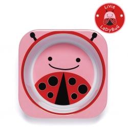 ชามอาหารสำหรับเด็ก Skip Hop รุ่น Zoo Bowls (Lady Bug)