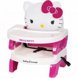 เก้าอี้เสริมสำหรับรับประทานอาหาร Baby Trend รุ่น EasySeat Toddler Booster Seat - Hello Kitty