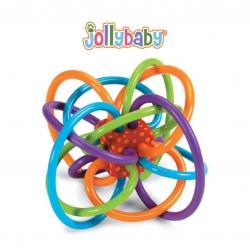 ยางกัดทรงลูปเสริมพัฒนาการ Jollybaby Baby's Soft Teething Ring
