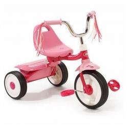 จักรยานสามล้อพับเก็บได้สำหรับเด็กเล็ก Radio Flyer Folding Trike 2Go (Pink)