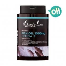 น้ำมันปลาเสริมแร่ธาตุโอเมก้า 3 จากธรรมชาติ Nature's Care Australia PRO SERIES - Fish Oil 100mg OMEGA 3