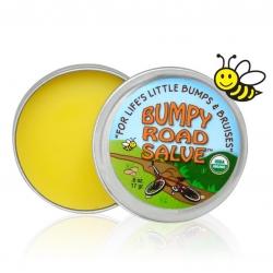 ขี้ผึ้งบรรเทาอาการบวมโนและฟกช้ำ Sierra Bees Bumpy Road Salve