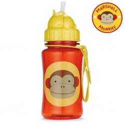 กระติกน้ำชนิดหลอดดูดพร้อมฝาปิด Skip Hop รุ่น Zoo Straw Bottle (Monkey)