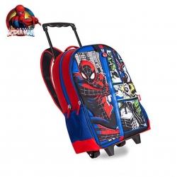 กระเป๋าสะพายพร้อมมือจับและล้อลาก Disney Rolling Backpack (Spider-Man)