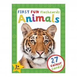 ชุดแฟลชการ์ดแสนสนุก First Fun Flashcards (Animals)