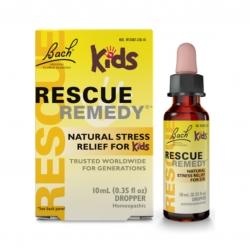 สมุนไพรบรรเทาความกังวลและผ่อนคลายความตึงเครียดสำหรับเด็ก Bach Original Rescue Remedy - Natural Stress Relief for Kids