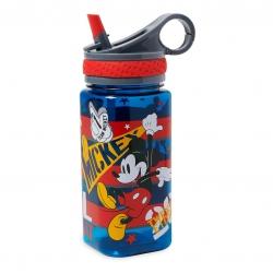 กระติกน้ำแบบหลอดดื่มสำหรับเด็ก Disney Water Bottle with Built-In Straw (Mickey Mouse)