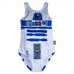 ชุดว่ายน้ำสำหรับเด็ก Disney Swimsuit for Girls (R2-D2)