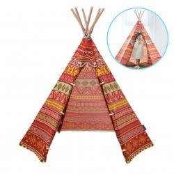 บ้านจำลองทรงเต๊นท์อินเดียนแดงสำหรับเด็ก LOOKA Tent (American Indian)