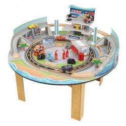 โต๊ะกิจกรรมพร้อมเมืองจำลอง KidKraft Disney Cars 3 Florida Racetrack Set & Table
