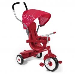 จักรยานสามล้อเอนกประสงค์ Radio Flyer 4-in-1 Stroll 'n Trike (Red)