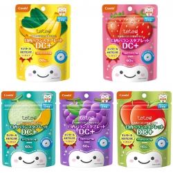 ลูกอมป้องกันฟันผุสำหรับเด็ก Combi Teteo Oral Balance Tablet DC+ หลากรสชาติสุดอร่อย