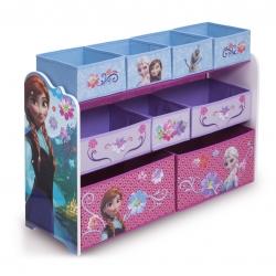 ชั้นเก็บของเล่นสุดน่ารัก Delta Children Deluxe 9 Bin Toy Organizer (Frozen)