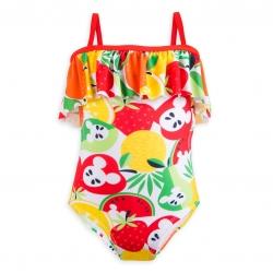 ชุดว่ายน้ำสำหรับเด็ก Disney Swimsuit for Girls (Mickey Mouse Fruit Summer Fun)