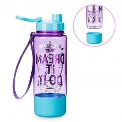 กระติกน้ำแบบยกดื่มพร้อมช่องเก็บของ Disney Princess Sport Bottle