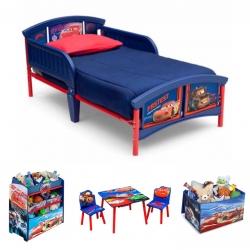 ชุดเฟอร์นิเจอร์ห้องนอนสำหรับลูกน้อย Delta Children Room-in-a-Box (Cars)