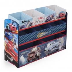 ชั้นเก็บของเล่นสุดน่ารัก Delta Children Deluxe 9 Bin Toy Organizer (Cars)