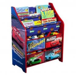 ชั้นเก็บหนังสือและของเล่นสำหรับเด็ก Delta Children Book & Toy Organizer (Cars)