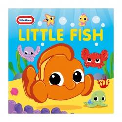 หนังสือสำหรับเวลาอาบน้ำแสนน่ารัก Little Tikes Little Fish Bathtime Fun