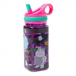 กระติกน้ำแบบหลอดดื่มสำหรับเด็ก Disney Water Bottle with Built-In Straw (Vampirina)