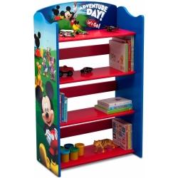 ชั้นวางหนังสือไม้แสนน่ารัก Delta Children Bookshelf (Disney Mickey Mouse)