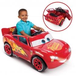 รถแบตเตอรี่สุดเท่ห์สำหรับเด็ก Huffy Disney Cars 3 Lightning McQueen 6V Battery-Powered Ride-On